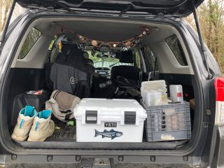 Yeti LoadOut GoBox 30 - On The Water - In Truck