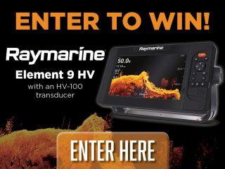 aymarine Element 9 HV and HV-100 Transducer giveaway