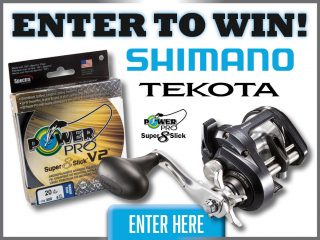 Shimano Tekota A and Power Pro Prize Pack