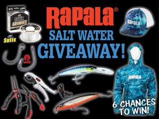 Rapala Saltwater Prize Package giveaway