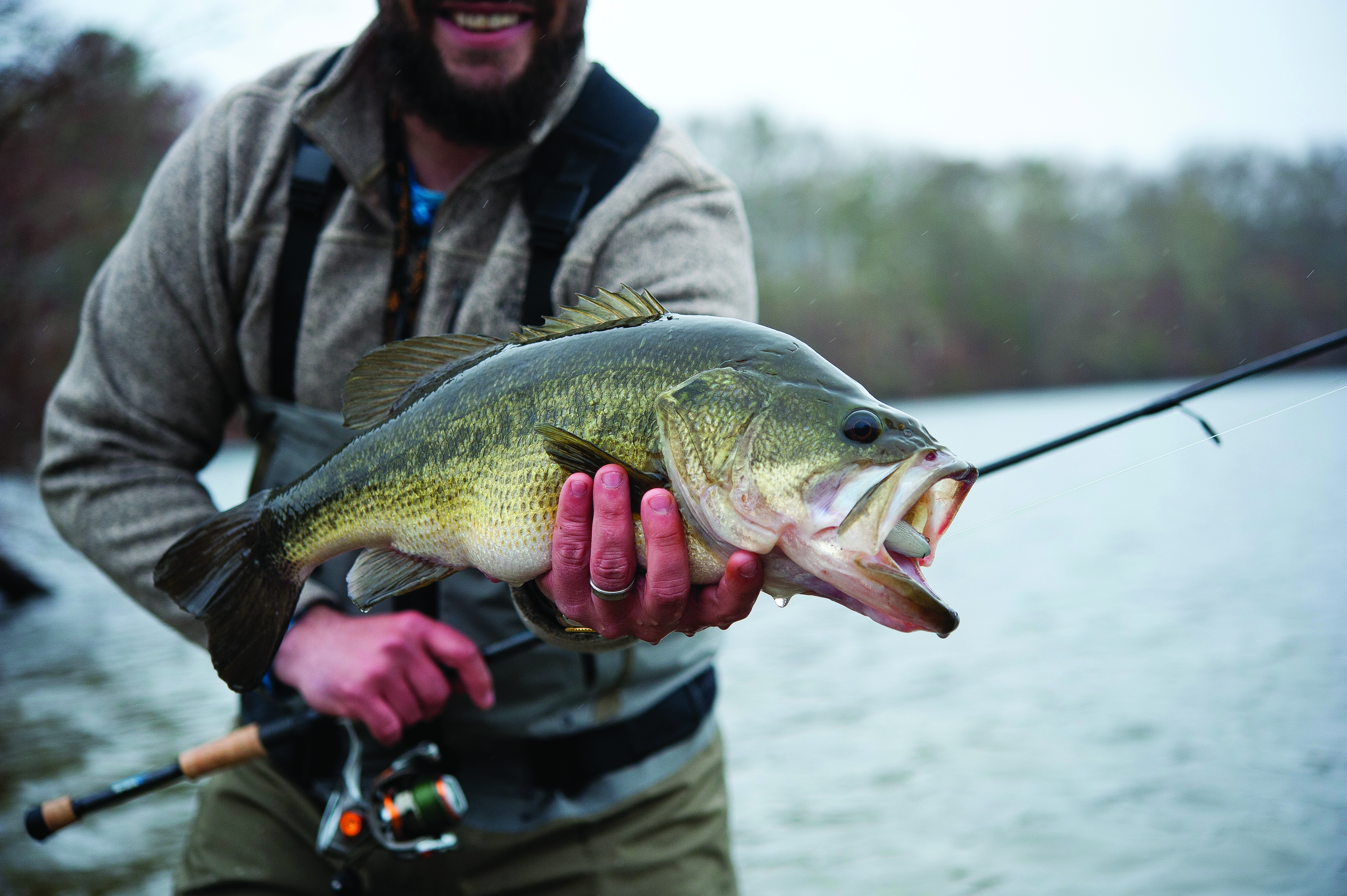 Surfcasting for Largemouth - On The Water