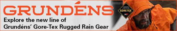 Grundens Gore-Tex rain gear
