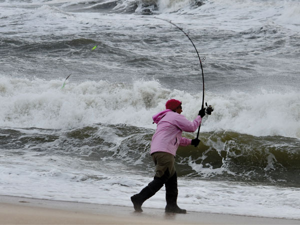 Base a fishing plan on conditions