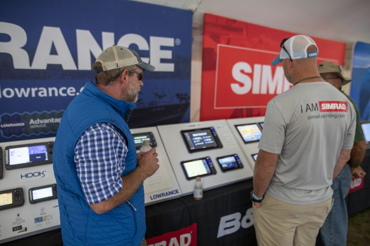 Simrad and Lowrance