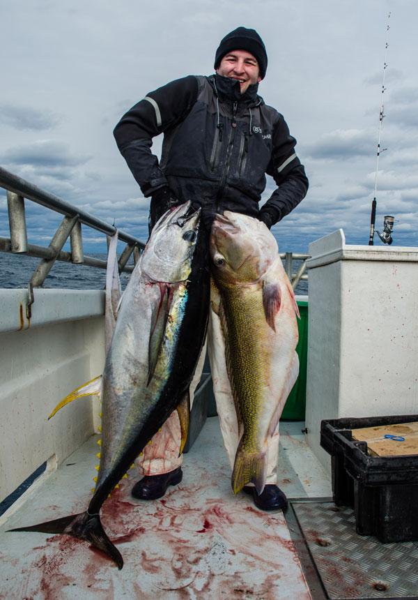 Jerry Sullivan yellowfin and tilefish