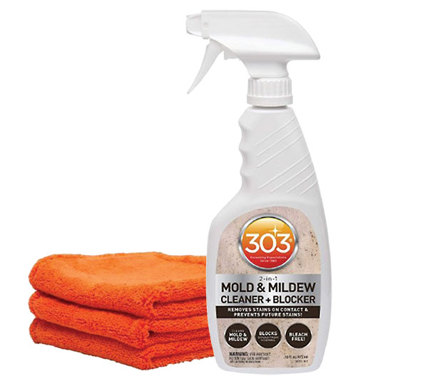 303 Mold and Mildew Cleaner + Blocker