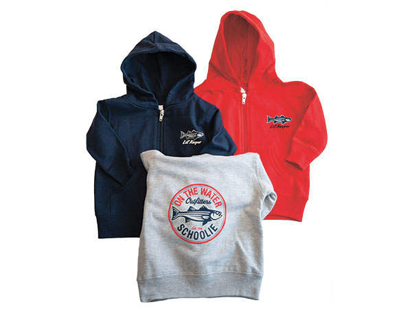 On The Water Outfitters Schoolie Hoodie