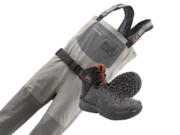 Simms G4 Pro Waders and G4 Pro Wading Boots