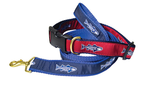 On The Water Outfitters Dog Collar and Leash