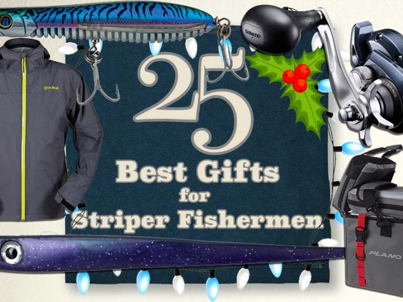 25 Best Gifts For Striper Fishermen