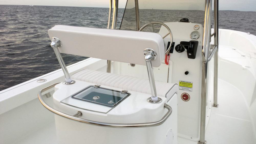 Maritime 250 Voyage cockpit