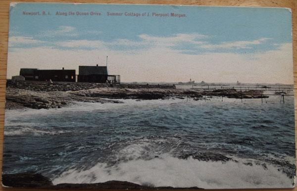 private fishing club of J. P. Morgan