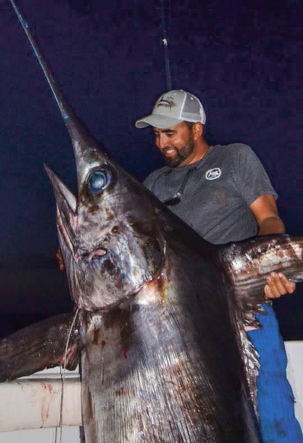 big recorbreaking swordfish