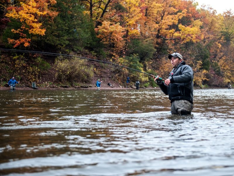 Jimmy Fee centerpin fishing