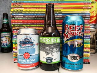 Otherside IPA, Reef Donkey American Pale Ale and Head Boat Helles Lager
