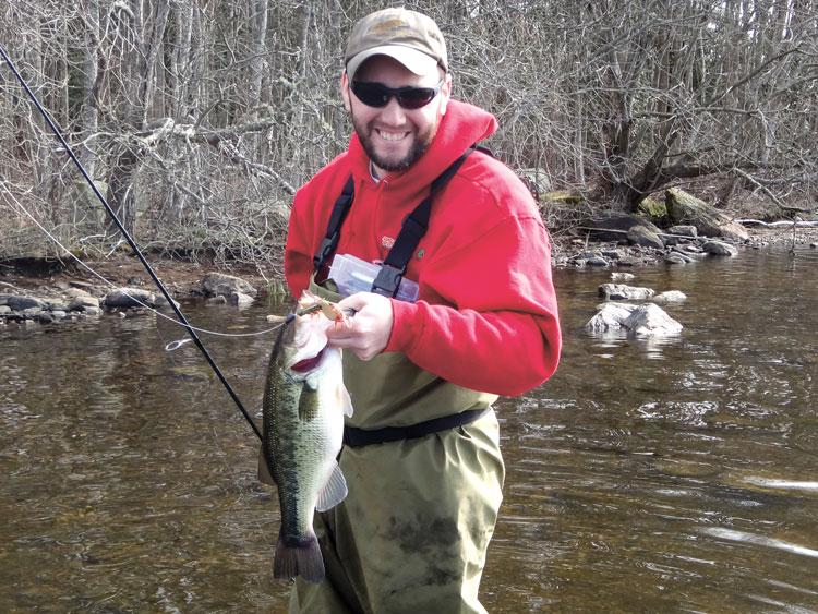 early season largemouth bass