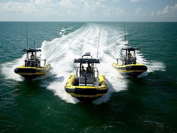 Sea Tow three boats