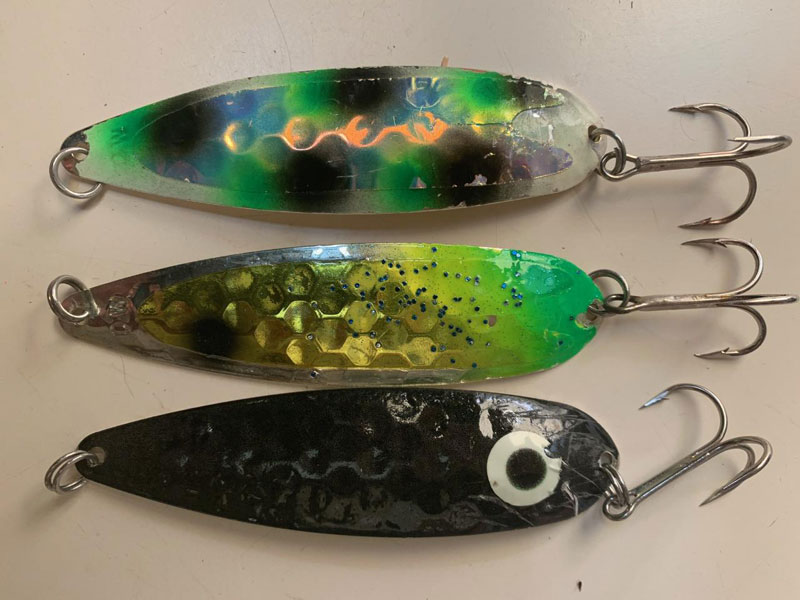 salmon trolling spoons