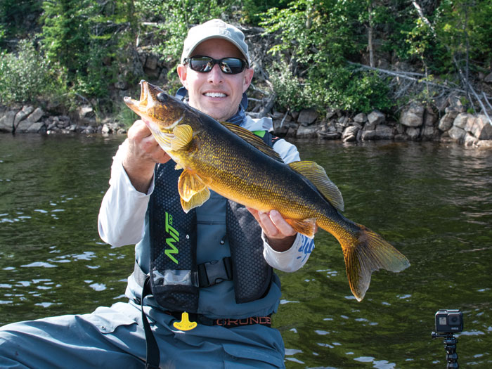 Kevin Blinkoff walleye