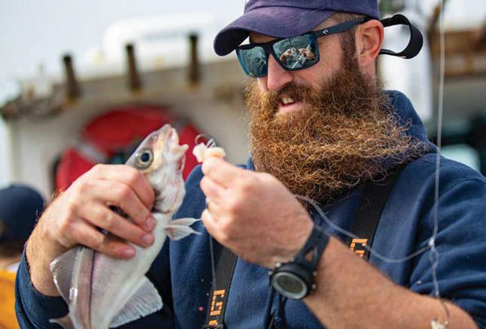 MA Marine Fisheries biologist Matt Ayer