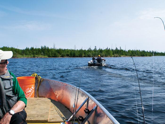 Saskatchewan boat