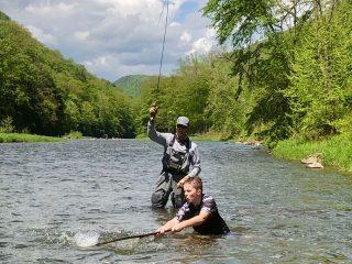 Pine Creek fly anglers