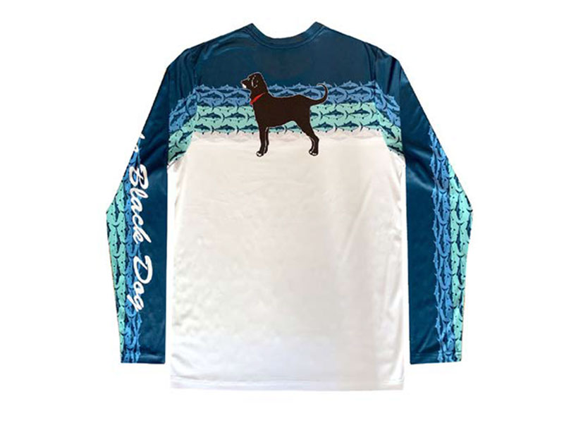Black Dog Outfitters Longsleeve Tuna Tech Tee