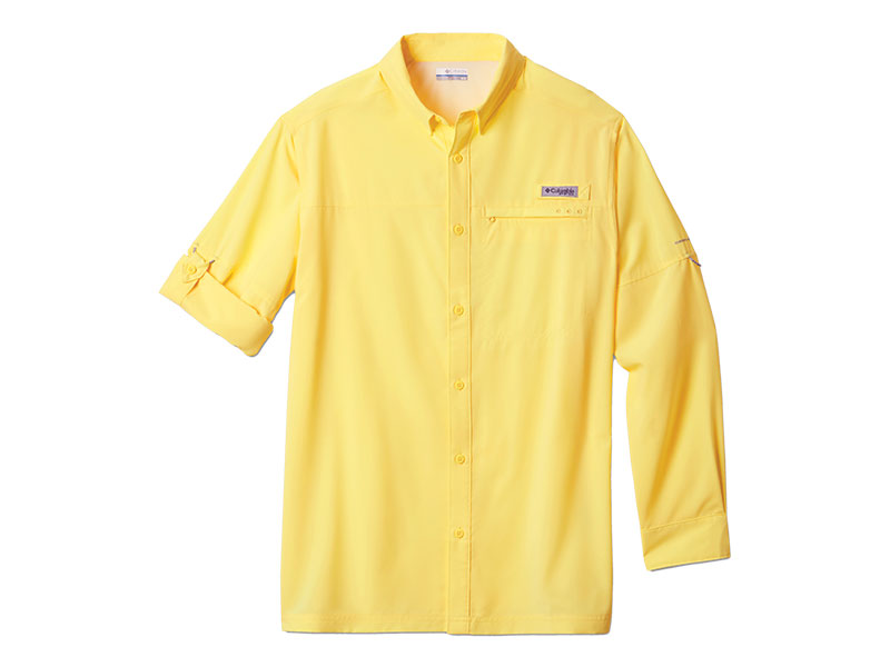 Columbia PFG Grander Marlin Woven Long Sleeve Shirt