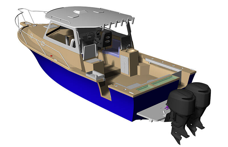 NorthCoast 315HT rendering