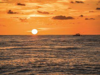 Offshore Fishing scene