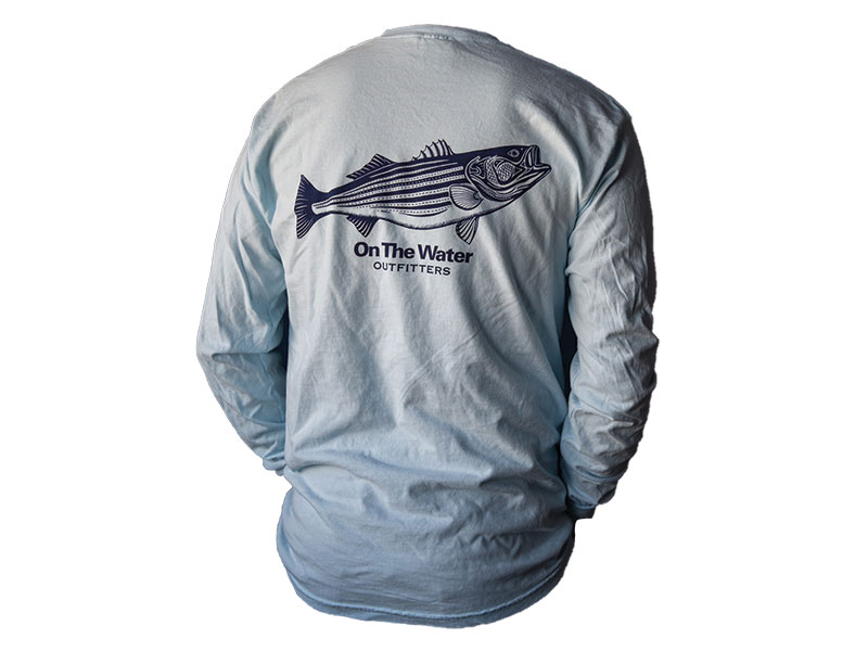 On The Water Pen & Ink Striper Longsleeve Tee
