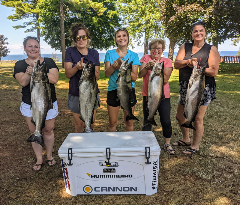 Reelin' for a Cure ladies tournament