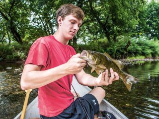 North Branch Raritan smallmouth bass