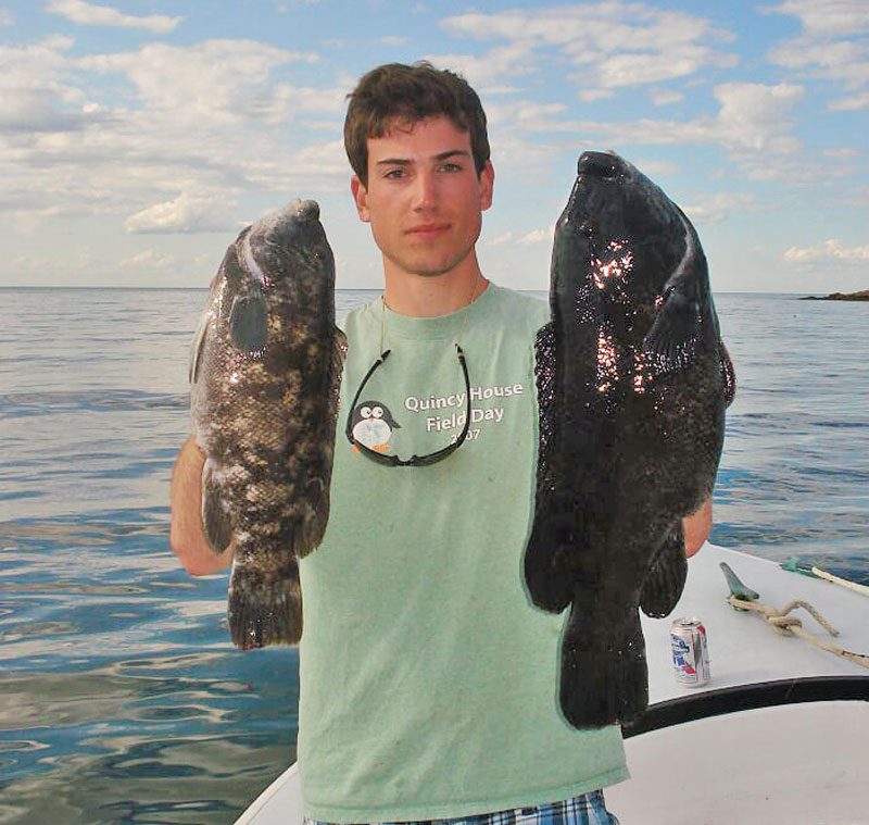 tautog double header