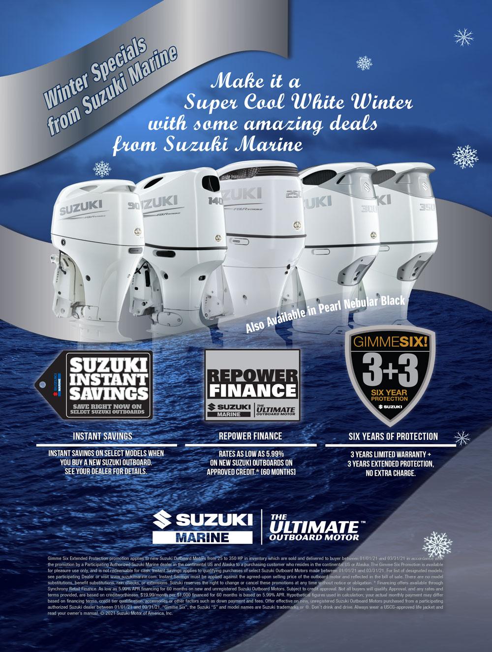 Ship Shops Suzuki Winter Promo