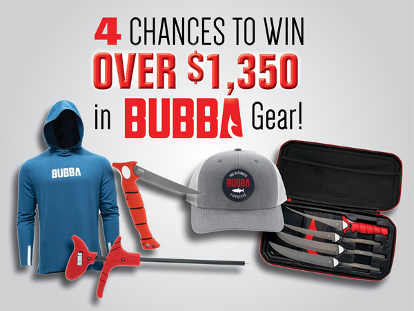 Bubba Giveaway
