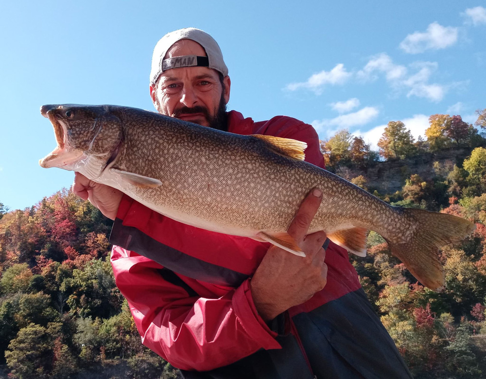 Mike Ziehm lake trout