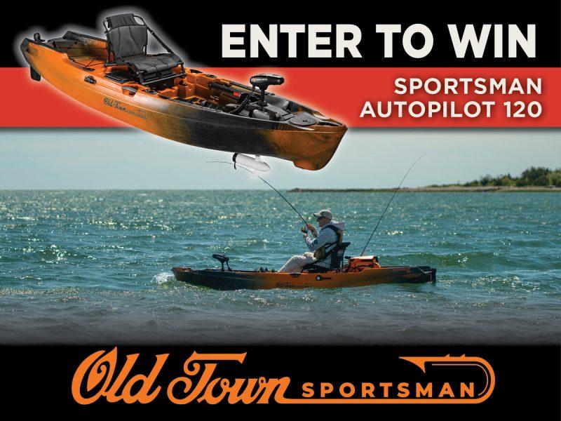 Old Town Sportsman AutoPilot 120 giveaway