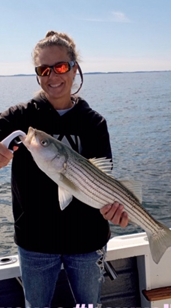 Ilea Salamone first striper