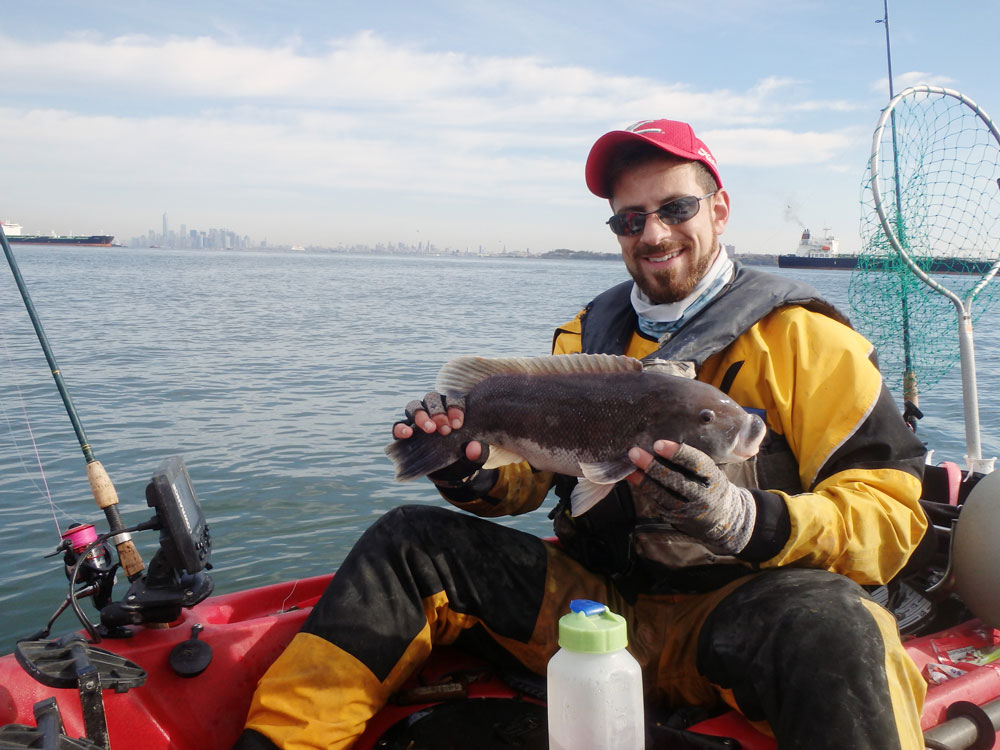 tautog on overlooked structure