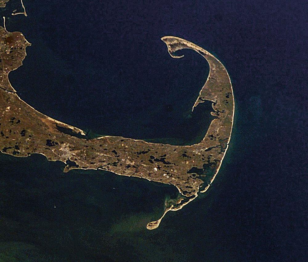 Outer Cape satellite photo