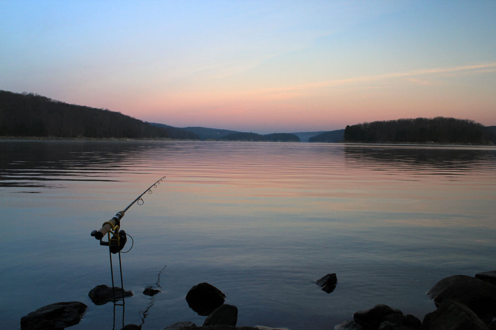 Sunrise on the Saugatuck Reservoir