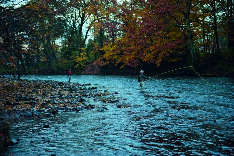 Gary Edwards has been fishing and guiding on the Salmon River since 1980.
