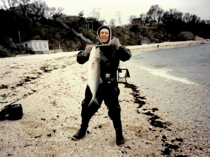 Although 10-and-12 pound bluefish are admired today, back in the '70s, no one blinked unless a blue exceeded 14-pounds.