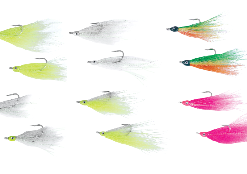 Add some extra flair to help you catch more stripers, fluke, pike, and other fish.