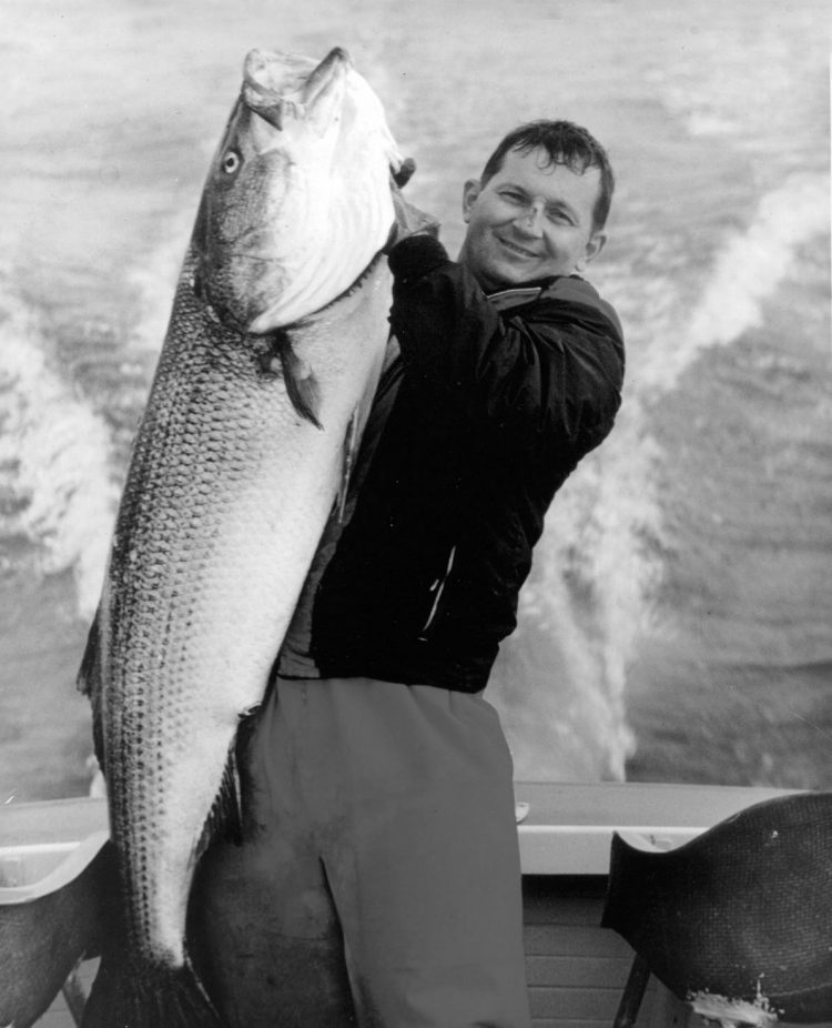 Charles E. Cinto, 73-pounds, Cuttyhunk, MA, 1967.