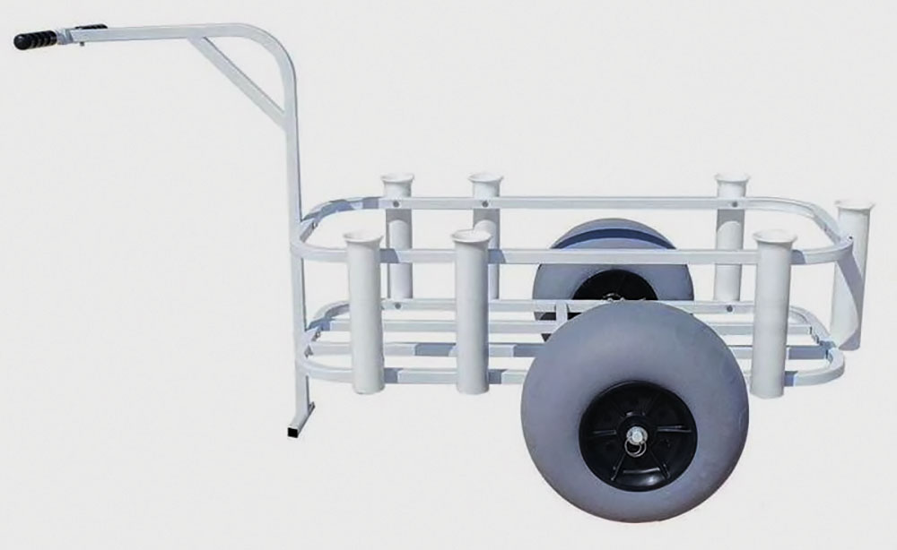 Sea Striker Balloon-Tire Fishing Cart