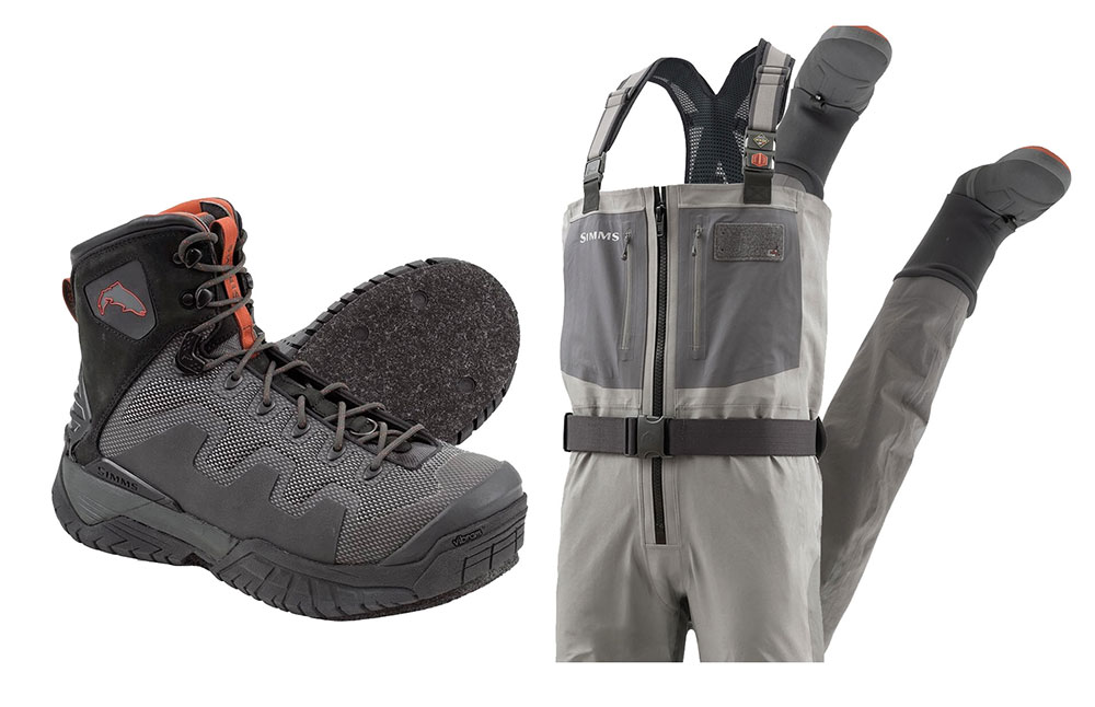 Simms G4 Guide Waders/Boots