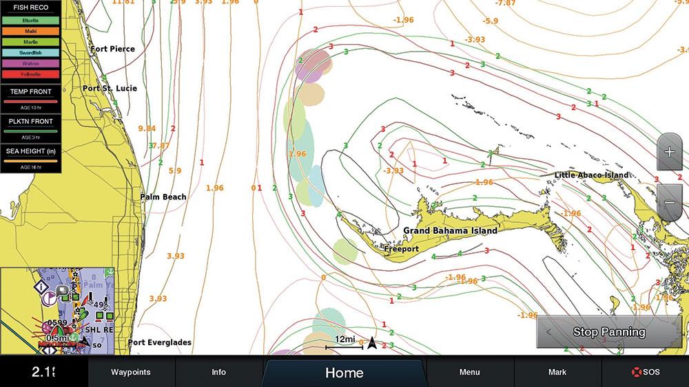 SiriusXM Fish Mapping