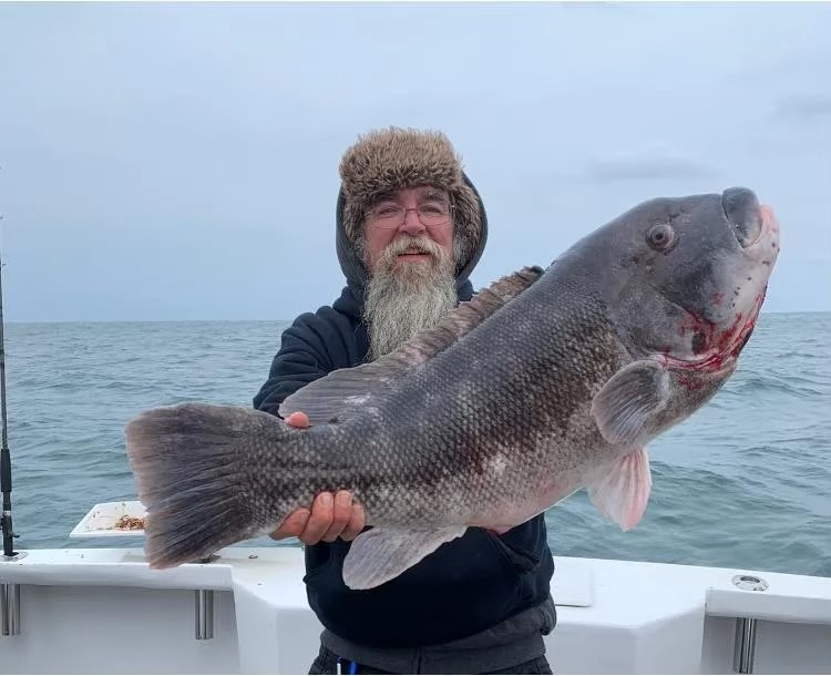 New Jersey tautog state record